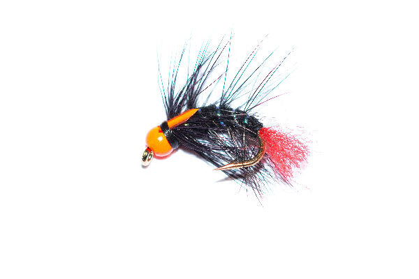 Black Hothead Snatcher Red Tag