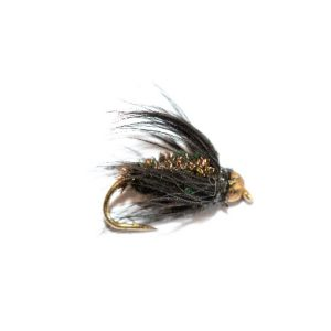 Black & Peacock Wet Fly Goldhead