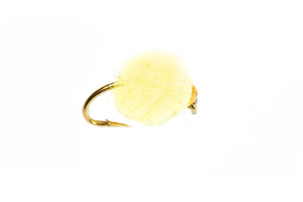 Gold Nugget Light Yellow Crystal Egg