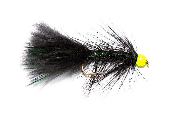 HI Vis Green Head Black Damsel