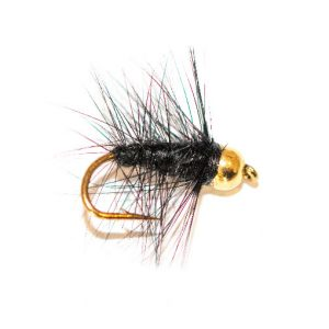 Black Palmer Wet Fly Goldhead