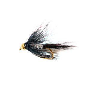 Blae & Silver Wet Fly Goldhead