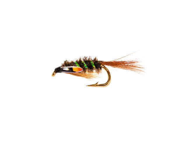 Green Rib SJC Diawl Bach Nymph