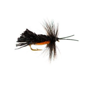 Horned Black Goddard Caddis Brown Belly Sedge