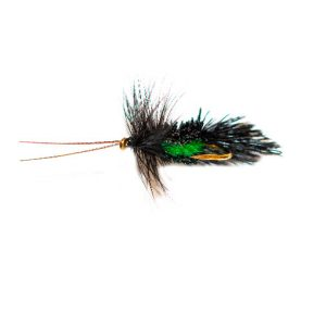 Horned Black Goddard Green Belly Caddis Sedge