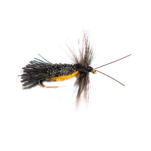 Horned Black Goddard Orange Belly Caddis Sedge