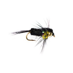 Rainbow Goldhead Black and Yellow Montana Nymph
