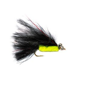 Red Flash Bead Eyes Black Tadpole